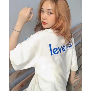 Hình ảnh Áo thun LEVENTS Popular Logo/ Cream Blue-7