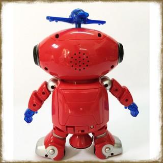 [Tặng Bộ Bóng Rổ Mini] Robot Chong Chóng Xoay Thông Minh [Đồ Chơi An Toàn Cho Trẻ Em]