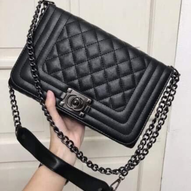 Túi chanel boy size 25