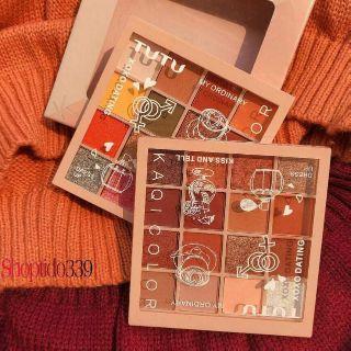 Bảng phấn mắt 16 ô Tutu KaQi Color Eyeshadow Palette