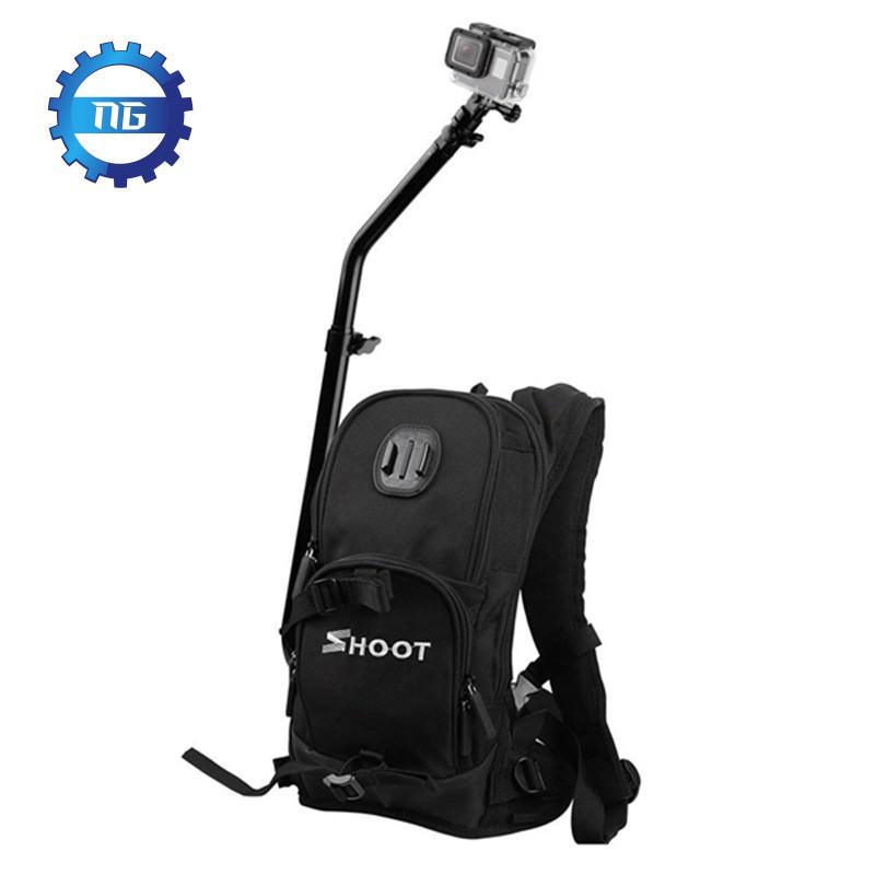 SHOOT Bag for GoPro Hero 7/6/5/4/3+/3 xiaoyi SJ Cam Action Camera