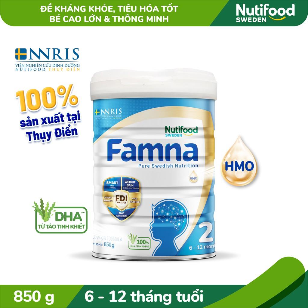 Sữa Bột FAMNA 2 Lon 850g