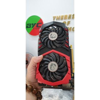 Vga MSI 1050Ti 4GB GDDR5 Gaming X - 2nd - BH đến T9/2022
