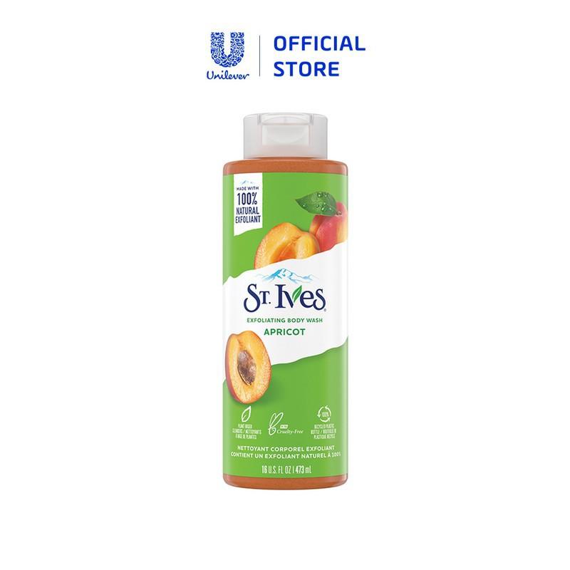 Sữa Tắm St.Ives Tẩy Tế Bào Chết Dịu Nhẹ Dưỡng Da - St. Ives Soothing Body Wash 473ml