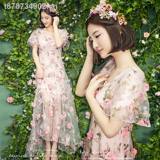 ✙☋The new beautiful faery dragon photo shoot dress studio theme small pure and fresh street photography outdoor scene pictures wedding