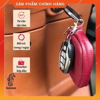 (da thật) ví mini treo móc khóa, ví đựng giấy tờ ô tô làm quà tặng in logo theo yêu cầu thumbnail