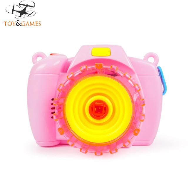 Automatic Bubble Maker Light Music Electric Toy for Kids Random Color