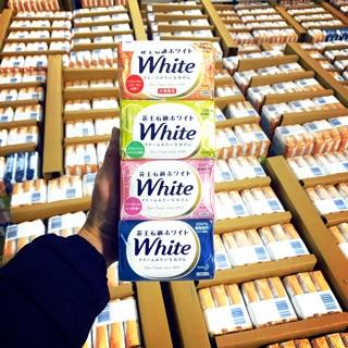 Sỉ Authentic Xà phòng ( xà bông ) Tắm Kao White 130g số 1 Nhật Bản .