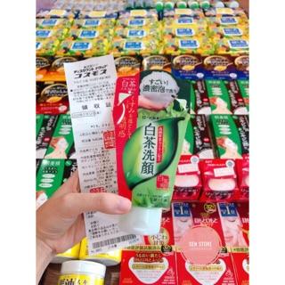 (Bill siêu thị) Sữa rửa mặt Trà xanh Nhật Rohto Shirochasou Green Tea Foam