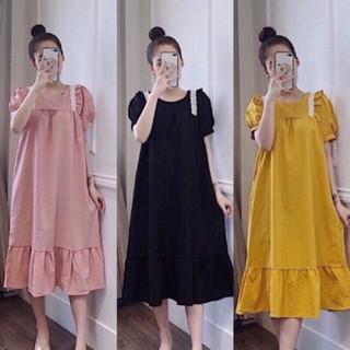 váy bầu thiết kế đẹp, sang chảnh chất mát mịn V210