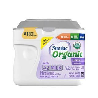 Mẫu mới Sữa Bột Similac Organic with A2 Milk 658g Mỹ 09 2021 (hộp) thumbnail