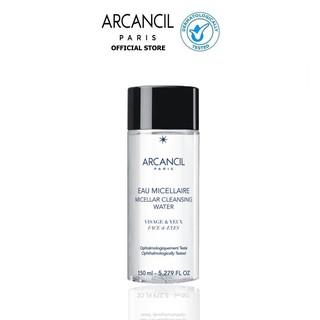 Nước tẩy trang Arcancil dành cho mặt và mắt Micellar Cleansing Water 150ml thumbnail