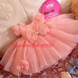 Váy công chúa voan Hàn phồng v84