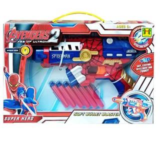 Đồ chơi phóng thanh xốp SPIDERMAN – SB354