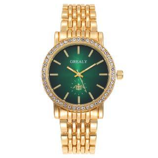Đồng hồ rhinestone kim cương thời trang cao cấp dành cho nam