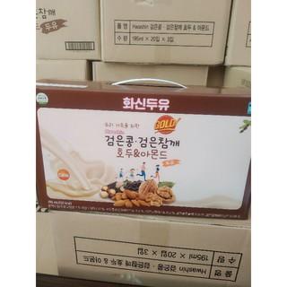Sữa óc chó đậu đen Hàn Quốc Golden health date 3.2022