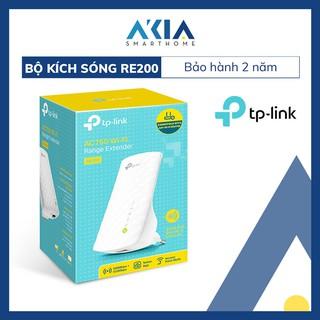 Bộ Kích Sóng Wifi Repeater Băng Tần Kép AC750 TP-Link RE200 – Hàng Chính Hãng