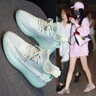 Sneakers dừa, nữ 35.0 mùa hè thoáng khí, du lịch thể dục lưới thumbnail