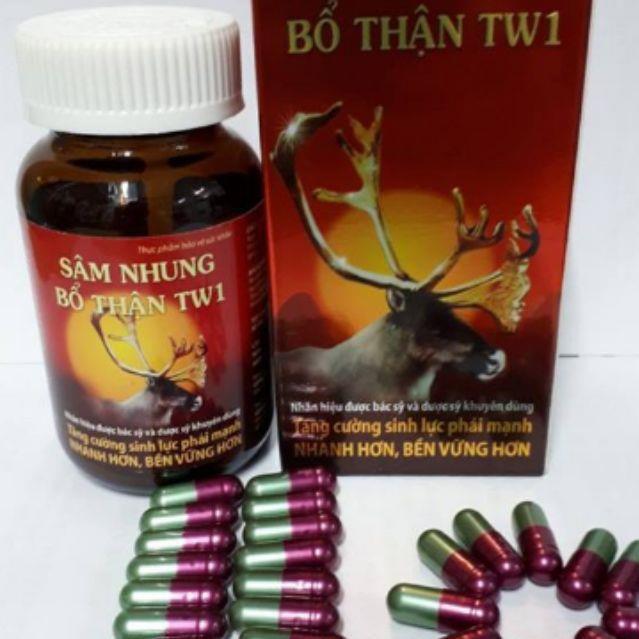 Sâm Nhung Bổ Thận Tw1 Hộp 1 Lọ 30Viên Bổ Sung Vitamintốt Cho Cơ Thể
