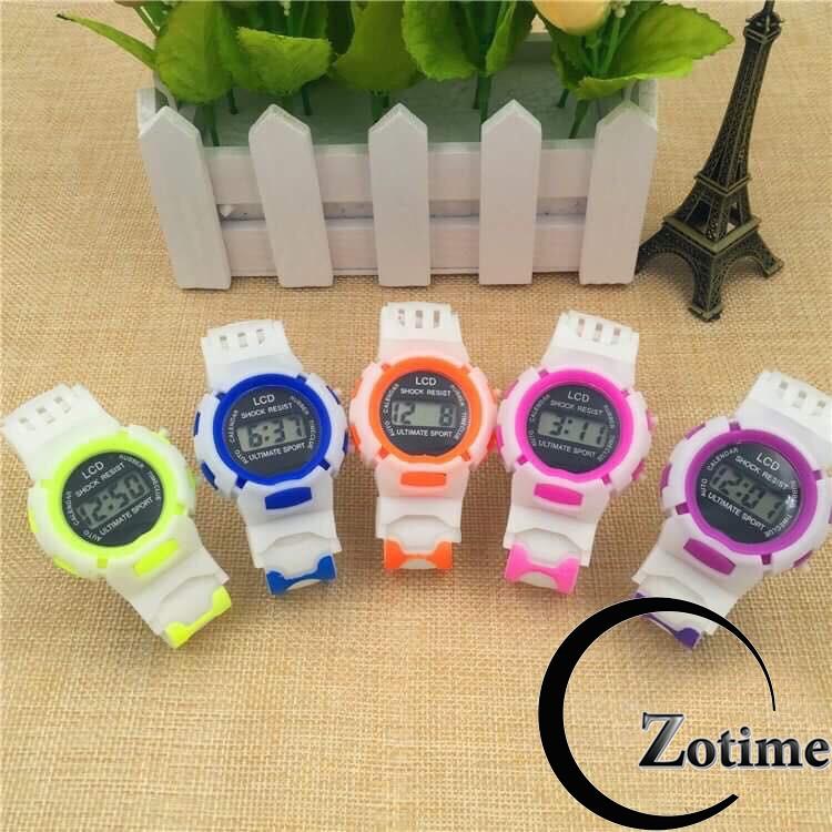 Đồng hồ trẻ em Dotime đồng hồ đeo tay thời trang phong cách thể thao khỏe khoắn ZO75