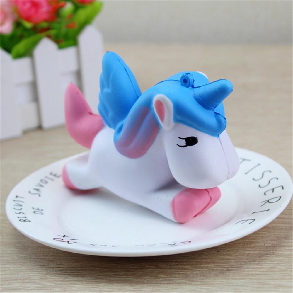 Slow Rebound Bread Unicorn Unzip Toy Jumbo Squishy
