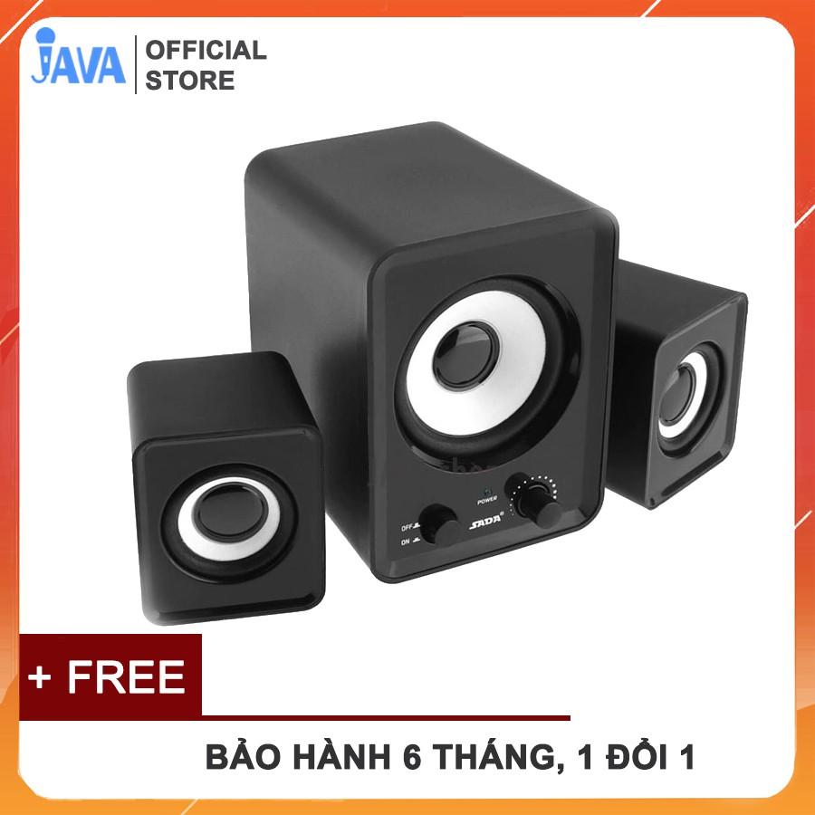 [Bass Cực Mạnh] Bộ 3 Loa Máy Tính PC Cao Cấp 2.1 – Loa vi tính Âm Bass Echo Hay – Nhỏ Gọn