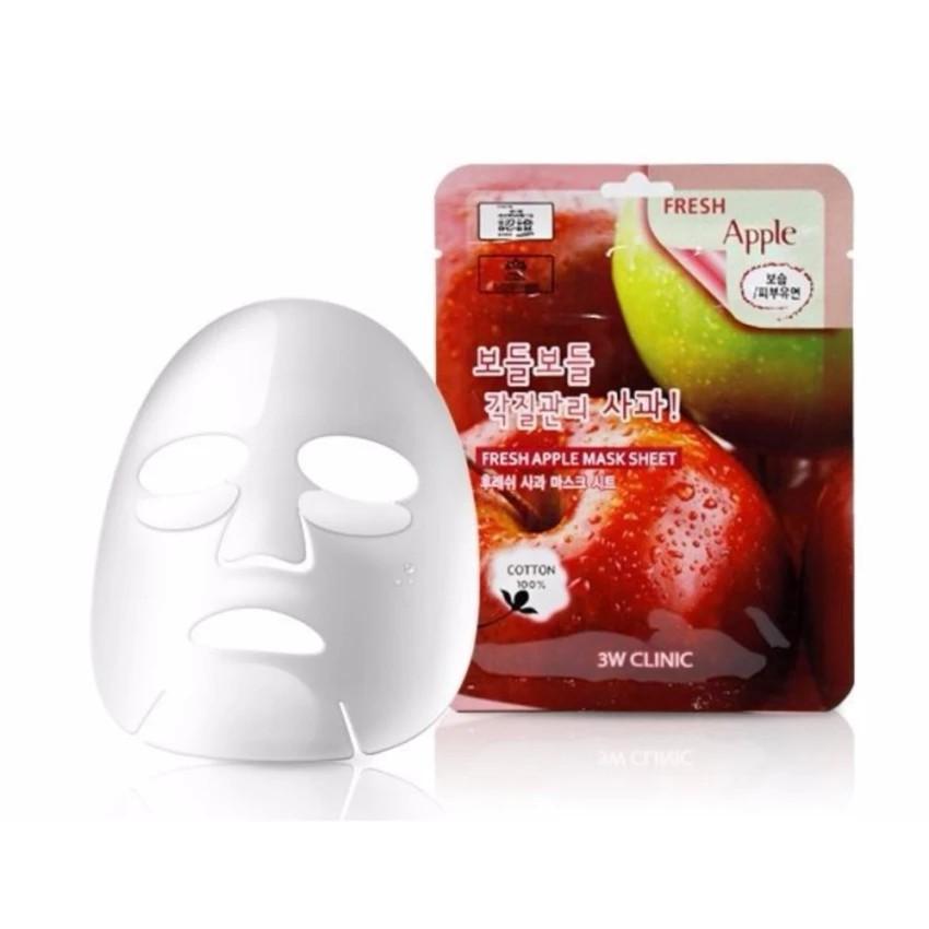 Mặt nạ dưỡng da căng mịn chiết xuất táo 3W Clinic Fresh Apple Mask ...