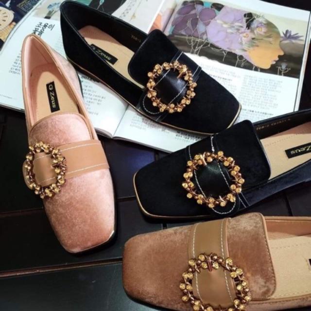 Giày bít nữ đế bằng 238 - 15091612 , 1275024709 , 322_1275024709 , 220000 , Giay-bit-nu-de-bang-238-322_1275024709 , shopee.vn , Giày bít nữ đế bằng 238