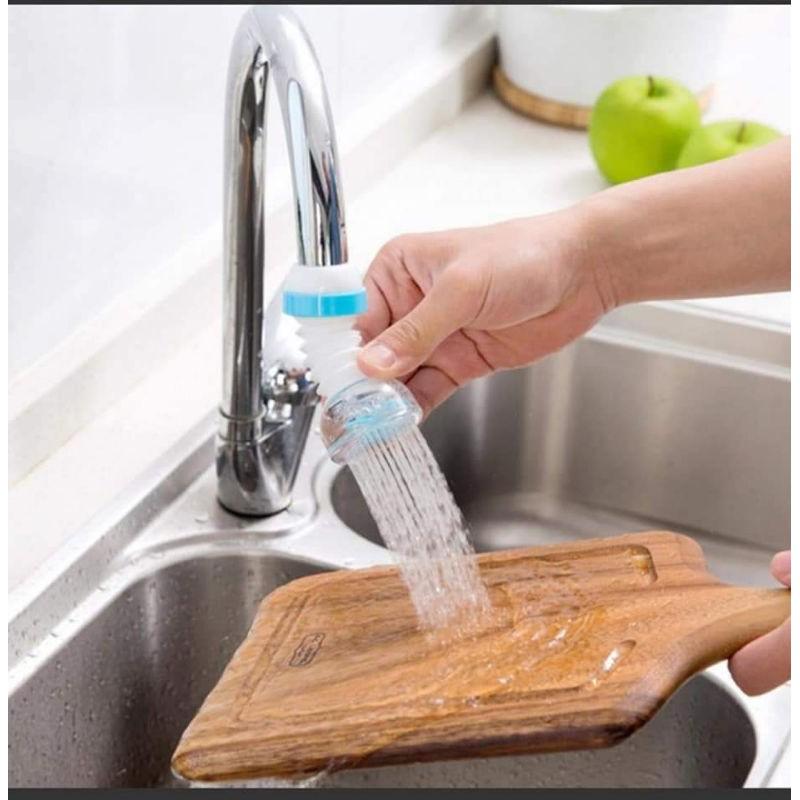 đầu nối vòi nước bồn rửa chén tăng áp xoay 360 độ