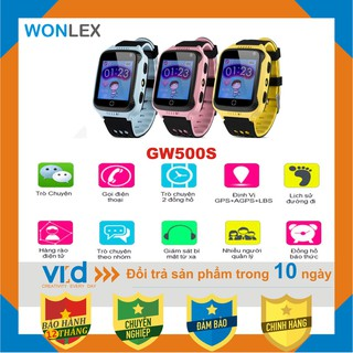 Đồng hồ định vị GPS Wonlex GW500S - Thời trang - Tiện lợi - Bảo hành 12 tháng