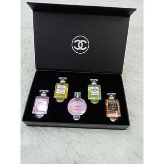 Bộ nước hoa mini Bộ 5 chai nước hoa Chanel cao cấp thumbnail