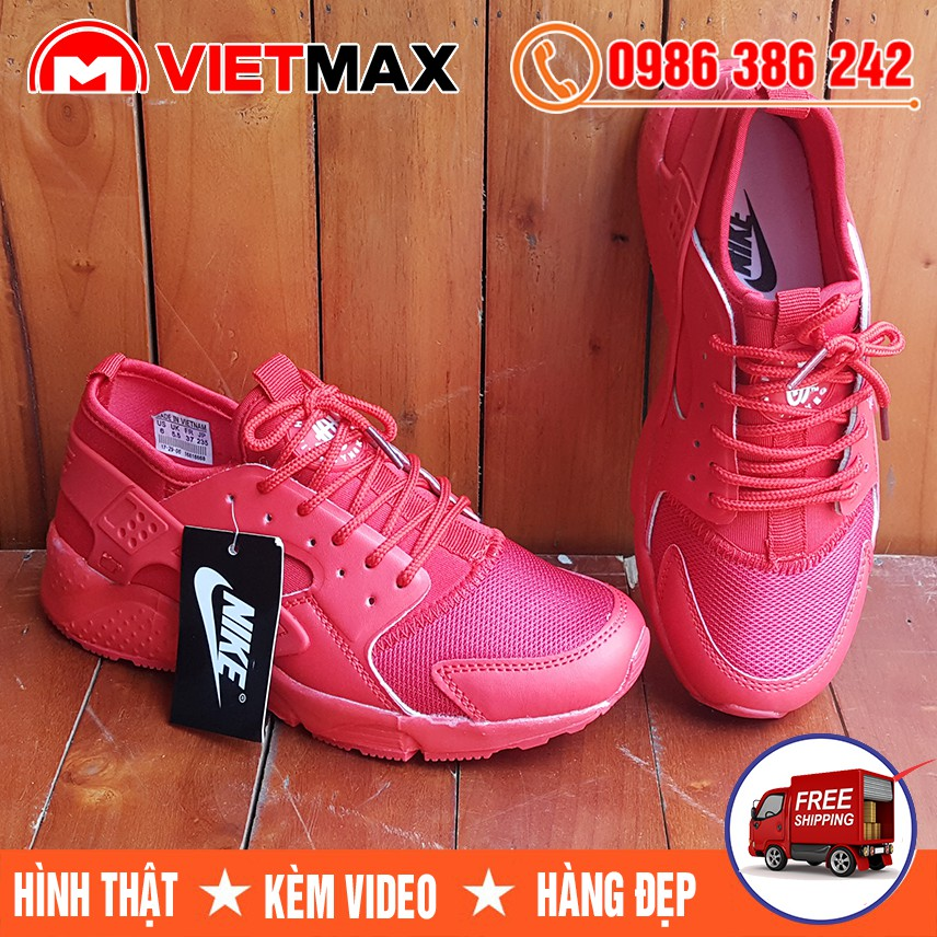 ⚡[FREE SHIP] Giày Nike Huarache Đỏ Full Hàng Việt Nam