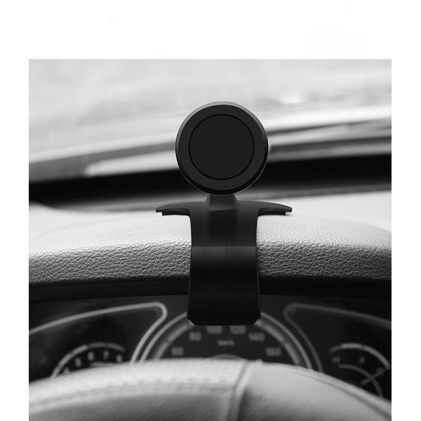 Giá đỡ điện thoại đầu hút nam châm chắc chắn kẹp taplo ô tô xoay 360