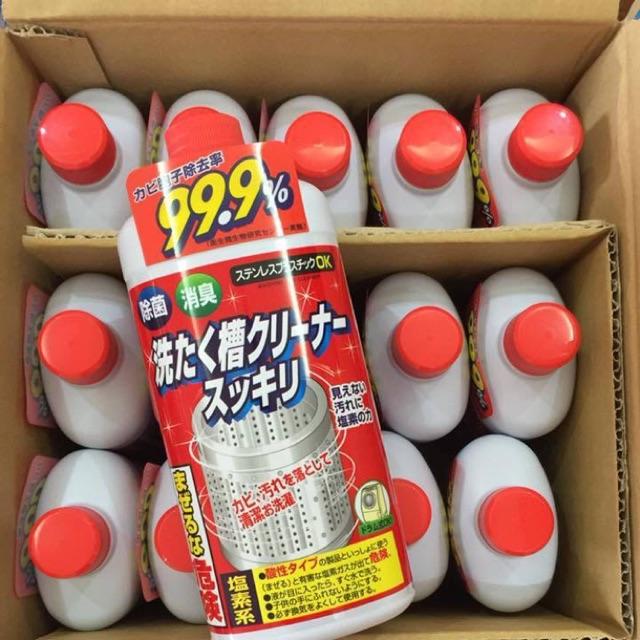 Tẩy lồng giặt hàng nội địa Nhật