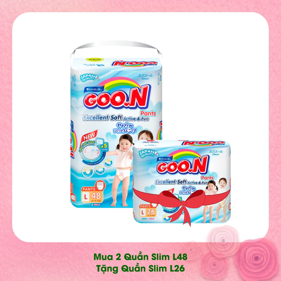 Combo 2 bịch quần Goon Slim L48 tặng 1 Goon Slim Quần L26