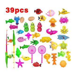Bộ đồ chơi câu cá nam châm 39 15 27 món cho bé thumbnail