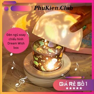 Đèn ngủ chiếu tường hình trẻ em Dream Wish box thumbnail