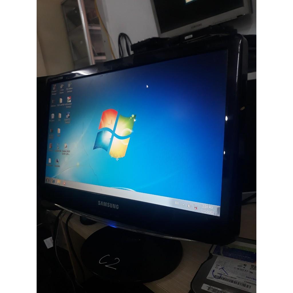 Combo màn hình máy tính samsung 19in sước + chuột