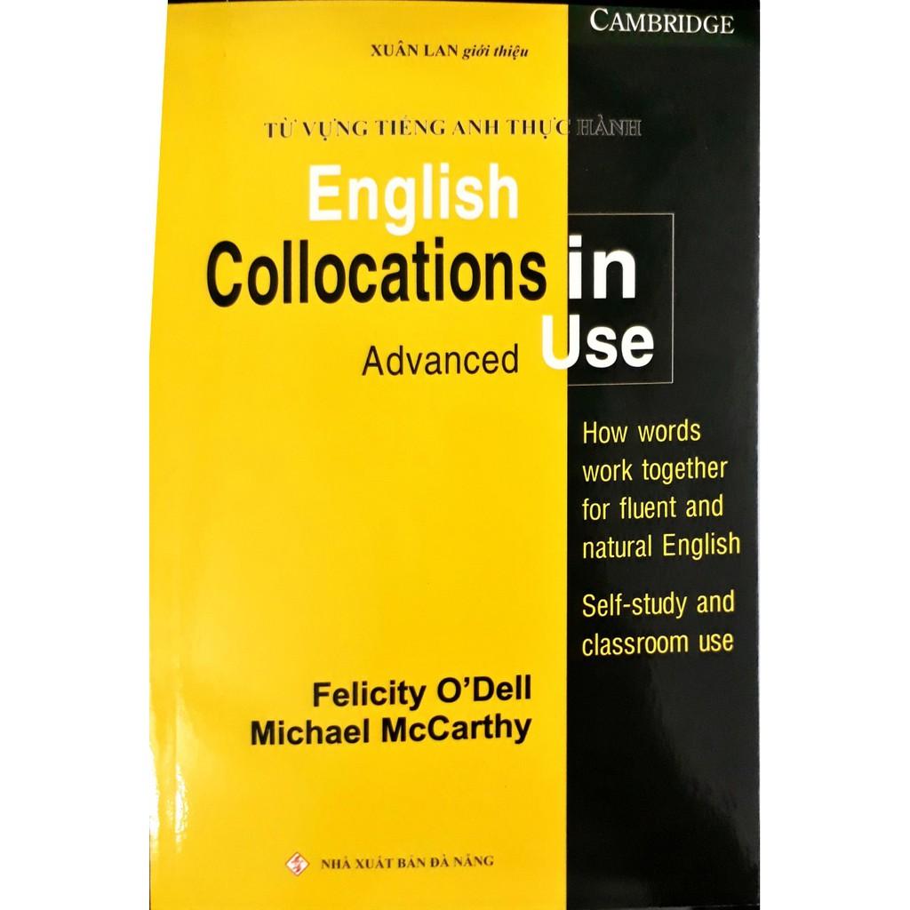 Sách - Từ vựng Tiếng Anh thực hành - (English Collocations in Use - Advanced)