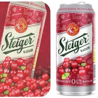 Bia Trái Cây Steiger Không Cồn – Vị Việt Quốc – Bia Không Cồn – Nhập khẩu trực tiếp từ Slovakia.