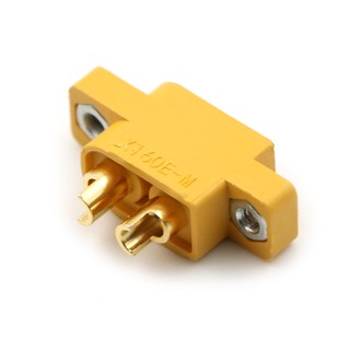 ☆VN XT60E-M Mountable XT60 Male Plug Connector For RC Models Multicopter
