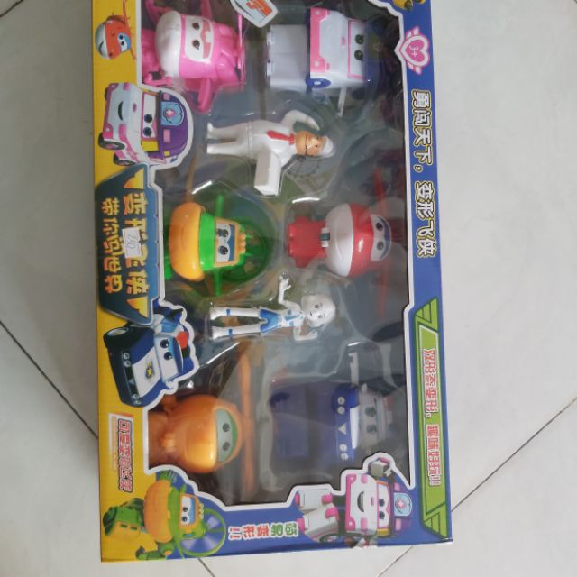 Đồ chơi trẻ em robot car