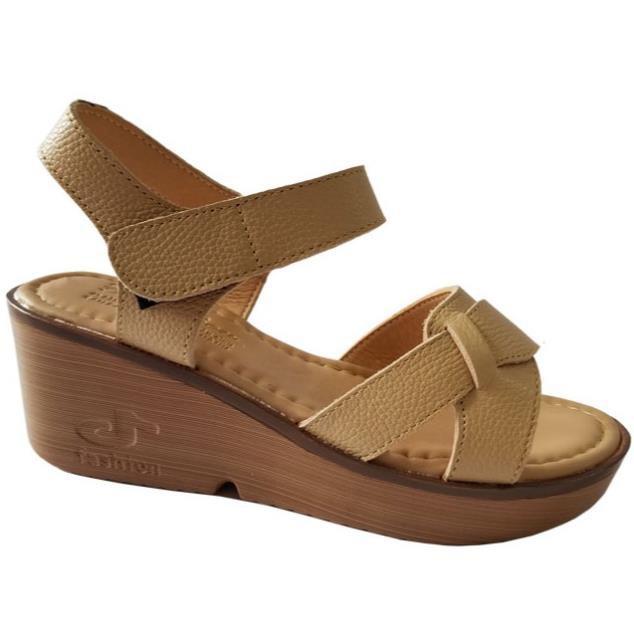 [Hạ Giá] Giày sandal xuồng nữ BIGGBEN da bò thật cao cấp HKD044 -x13 !