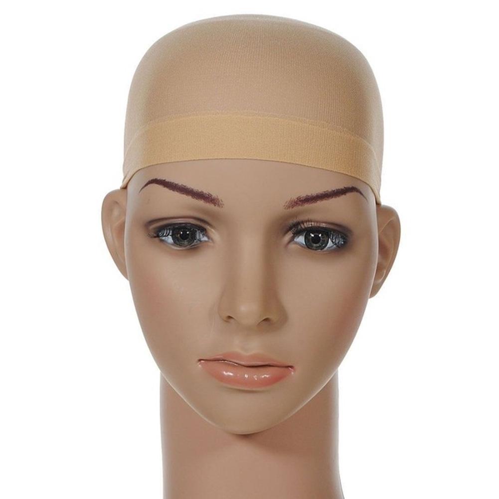 12pcs Women Men Liner Cap Beige Invisible Soft Nylon Wig Net