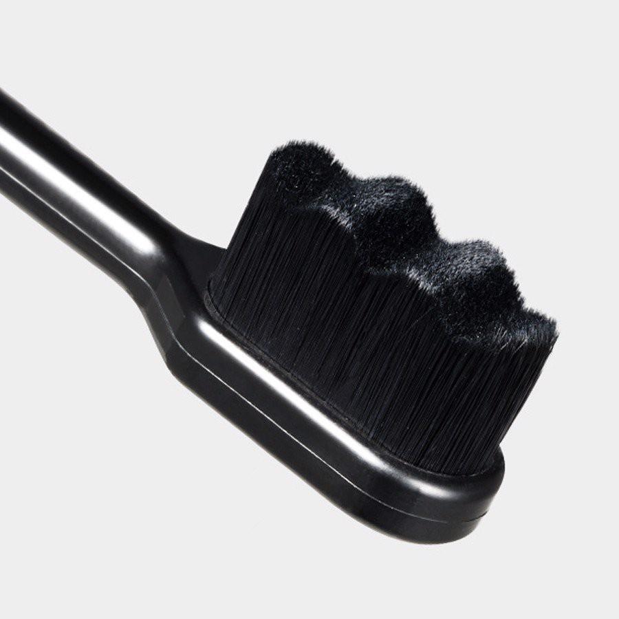 Bàn Chải Đánh Răng Than Đen Combo 2 Cây Bảo Vệ Sức Khỏe Răng Miệng Paul Medison Lacha ToothBrush by Gomi Mall