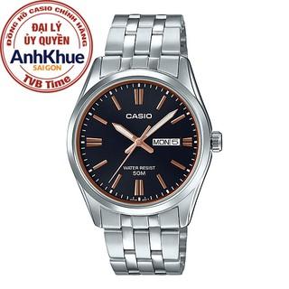 Đồng hồ nam dây kim loại Casio Standard chính hãng Anh Khuê MTP-1335D-1A2VDF