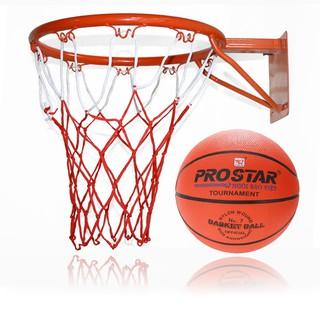Bộ bóng rổ và khung Keen Store có kèm theo kim bơm và lưới
