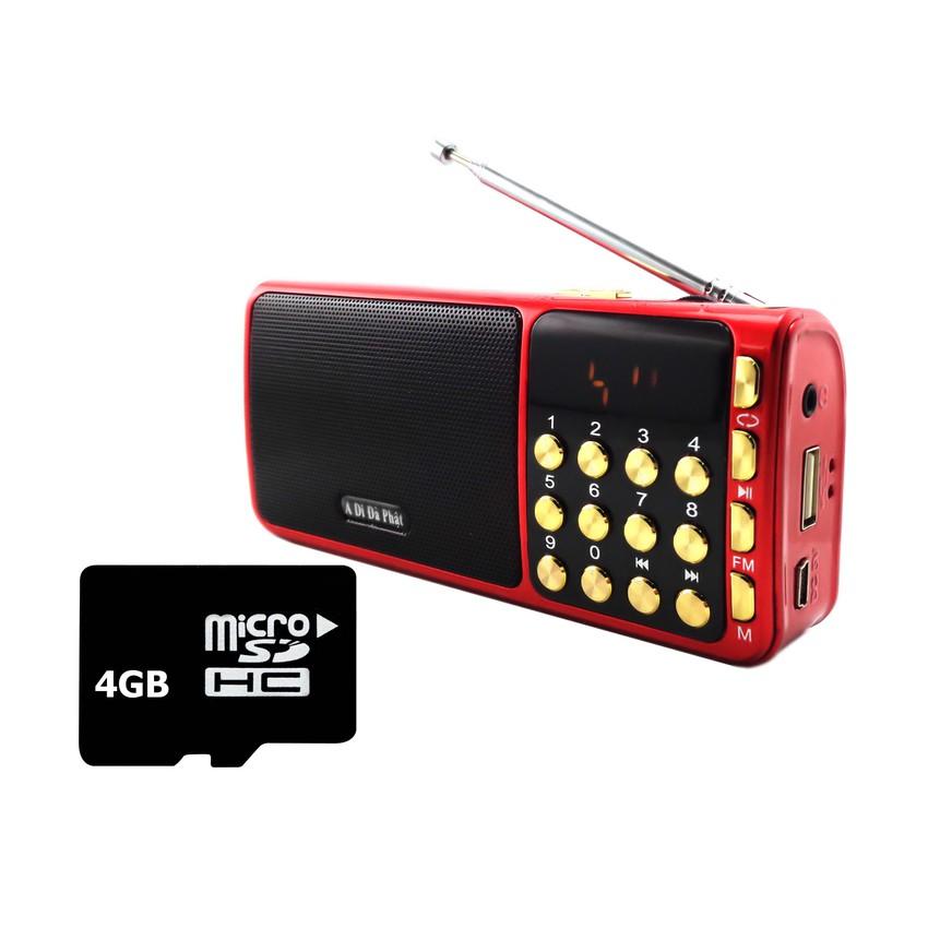 Bộ Loa nghe nhạc USB FM SA-932 (Đỏ) và Thẻ nhớ 4GB - 2657416 , 117714093 , 322_117714093 , 189000 , Bo-Loa-nghe-nhac-USB-FM-SA-932-Do-va-The-nho-4GB-322_117714093 , shopee.vn , Bộ Loa nghe nhạc USB FM SA-932 (Đỏ) và Thẻ nhớ 4GB