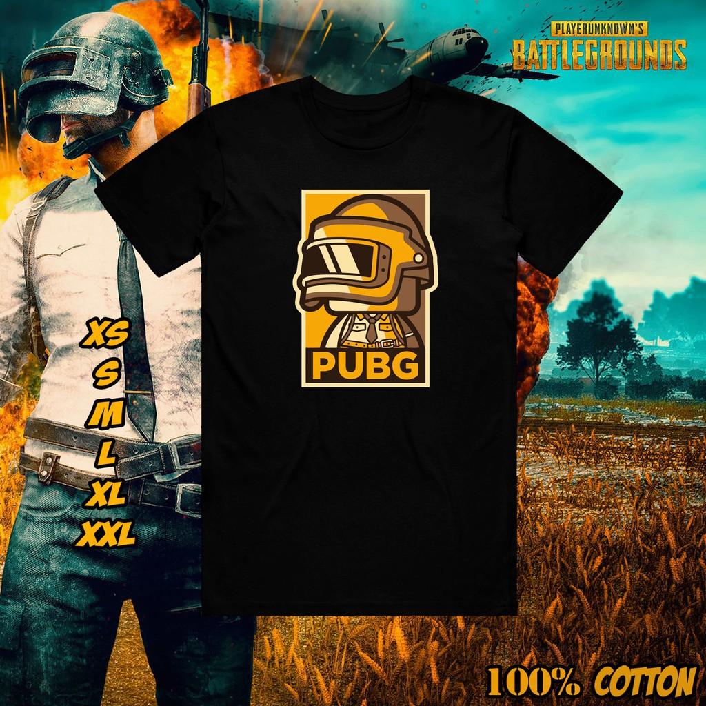 Mẫu áo thun PUBG Player Unknown BattleGrounds Chibi Frame Vector Art Design Gamer Gaming Shirt (P8) độc đẹp giá rẻ