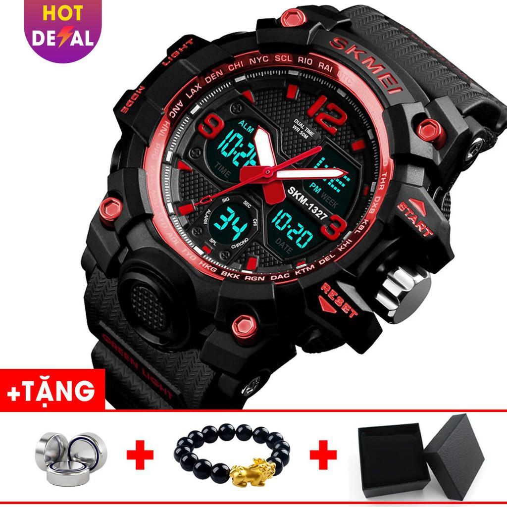 Đông nam thể thao điện tử đa chức năng chống nước Skmei VW088 - Vemz Watch Đồng hồ kim-điện tử